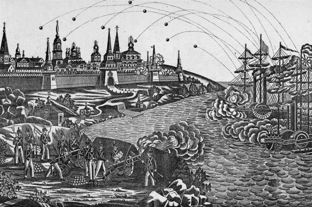 Нападение англичан на Соловецкий монастырь, 1868 год