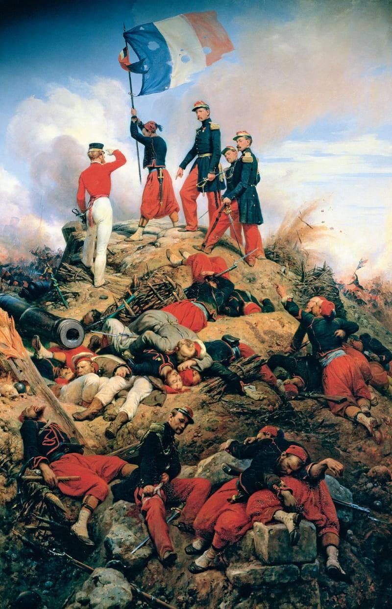 Орас Верне «Крымская война. Взятие Малахова кургана французскими войсками 8 сентября 1855»