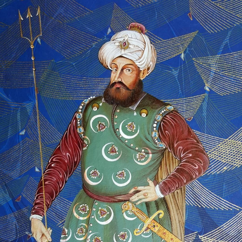 Османский корсар Хайреддин Барбаросса