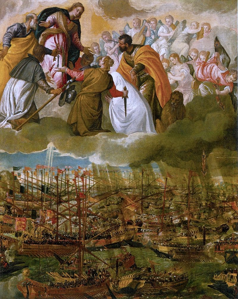 Паоло Веронезе «Битва при Лепанто»