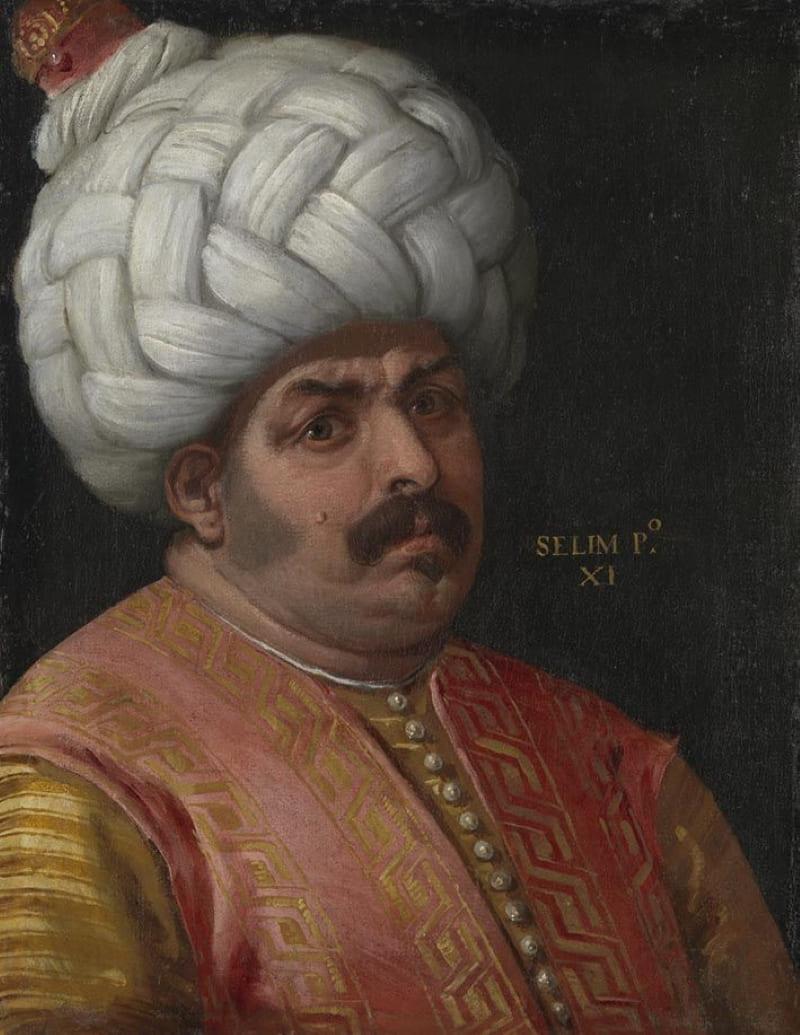 Паоло Веронезе «Портрет султана Османской империи Селима I»