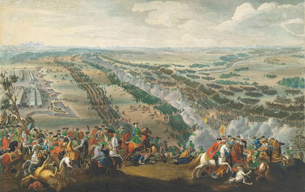 Пьер-Дени Мартин «Полтавская битва»