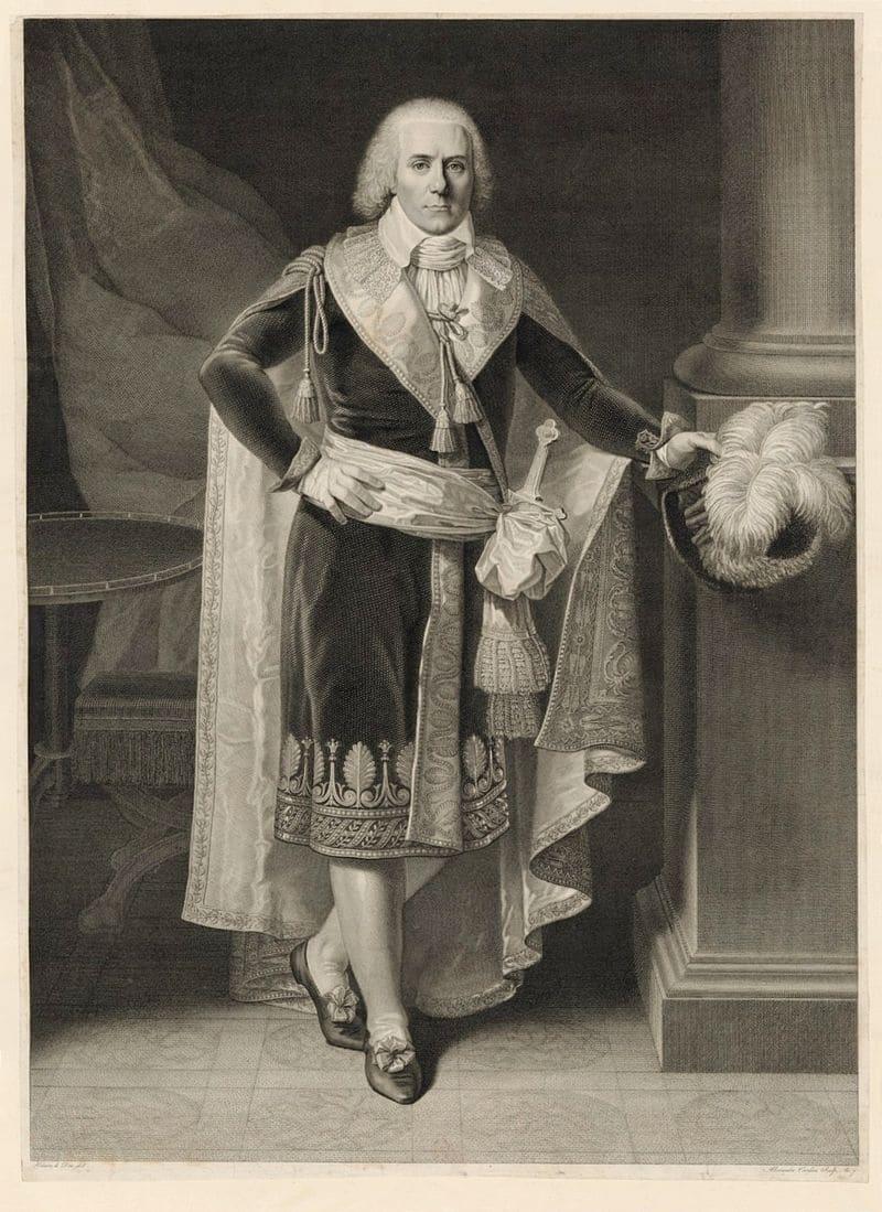 Портрет Поля де Барраса