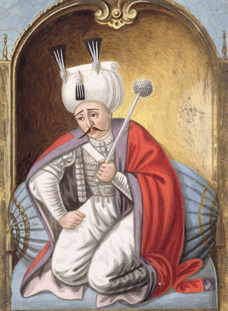Портрет Селима I, султана Османской империи