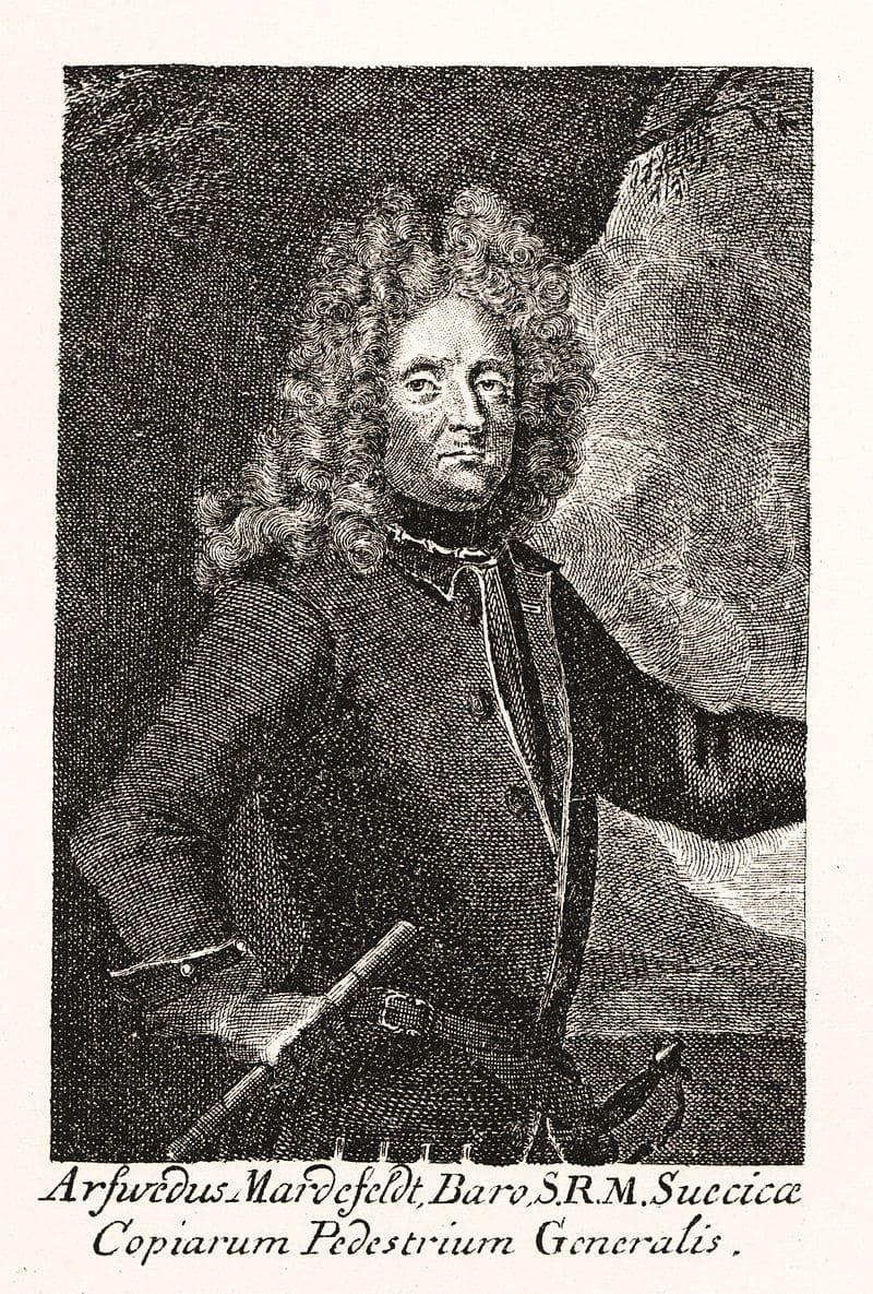 Портрет генерала Арвида Акселя Мардефельта