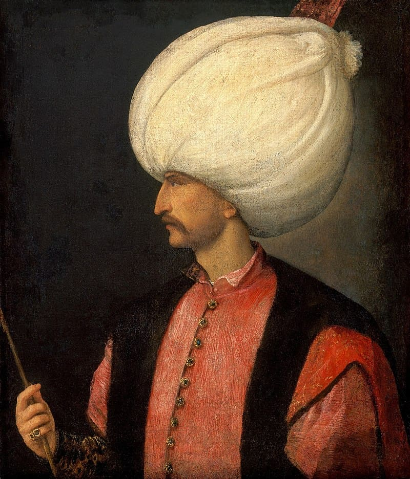 Портрет султана Сулеймана I