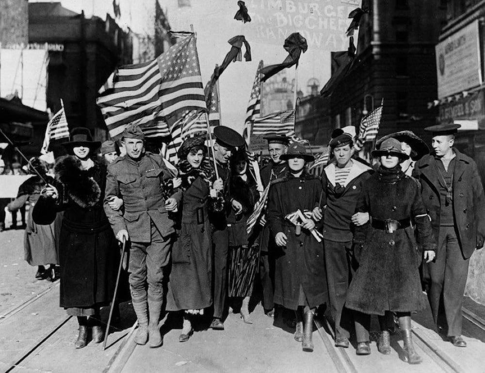 США после Первой Мировой войны