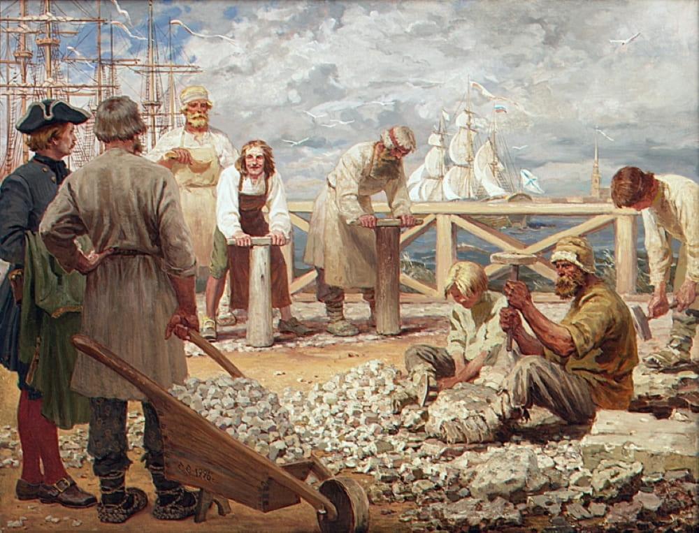 Сергей Ефошкин «На набережной Невы»