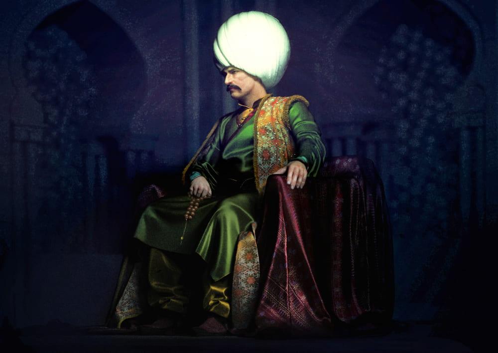 Султан Османской империи Селим I / © mustafa öner / mozoner.artstation.com