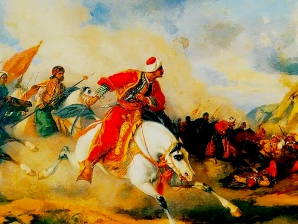 Султан Селим Явуз на поле боя