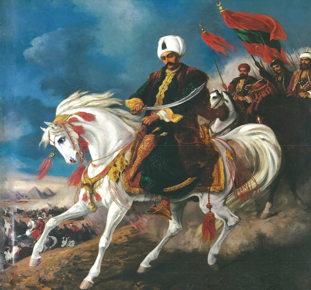 Султан Селим I во время Египетской кампании