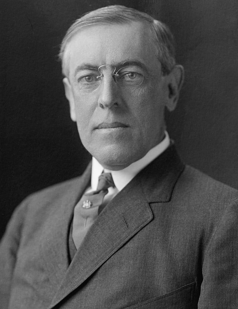 Томас Вудро Вильсон — 28-й президент США