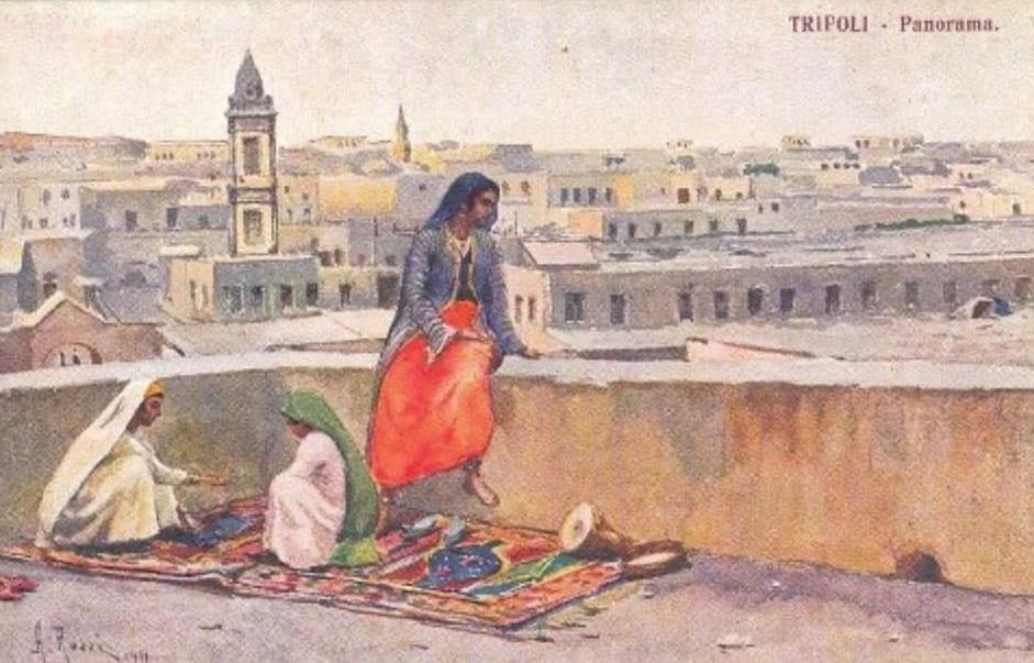Вид на Триполи