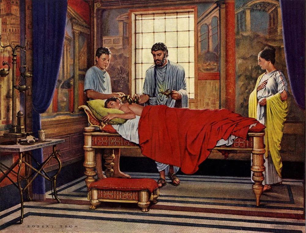Врачевание в Древнем Риме