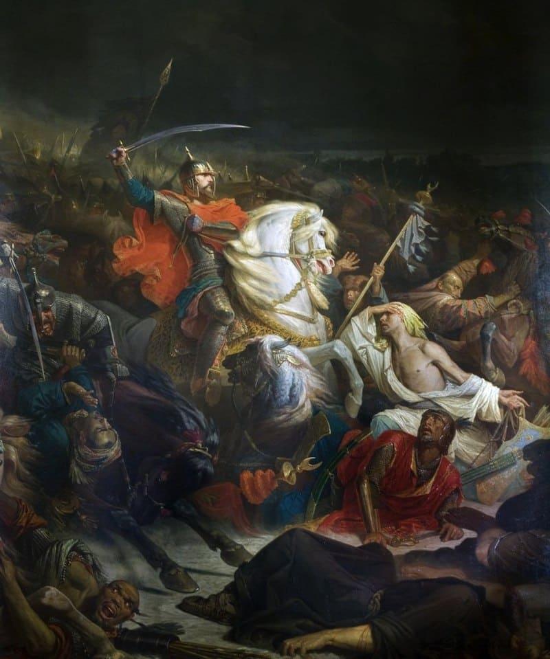 Адольф Ивон «Куликовская битва»