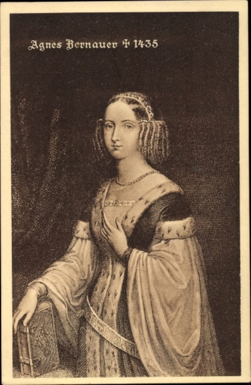 Агнес Бернауэр в 1435 году
