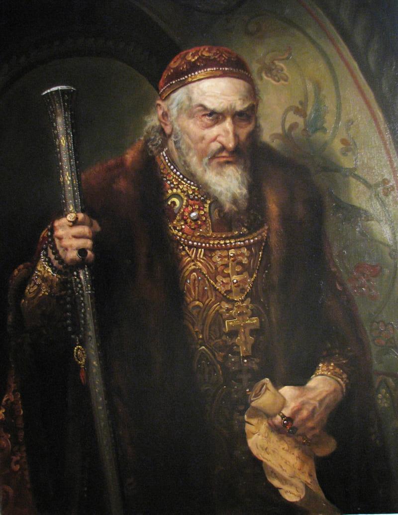 Андрей Шишкин «Портрет Ивана Грозного»