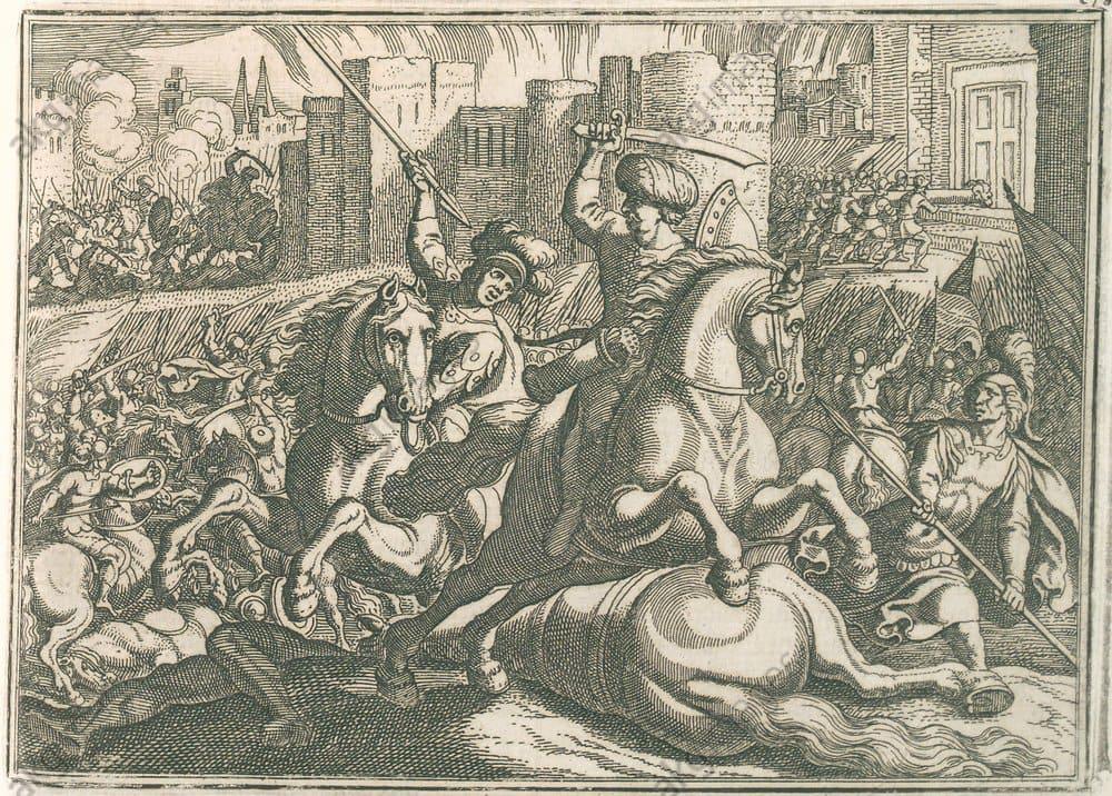 Маттеус Мериан «Битва при Ридании (у стен Каира)»