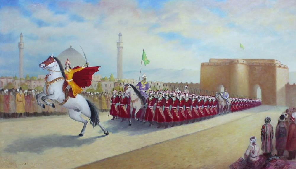 Чингиз Мехбалиев «Исмаил объявляет себя шахом, войдя в Тебриз»
