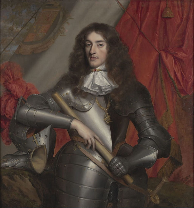 Джон Майкл Райт «Портрет молодого Якова II»