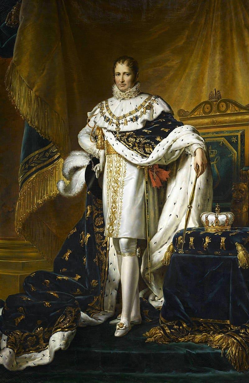 Франсуа Жерар «Парадный портрет короля Испании Хосе I Бонапарте» (брат Наполеона)