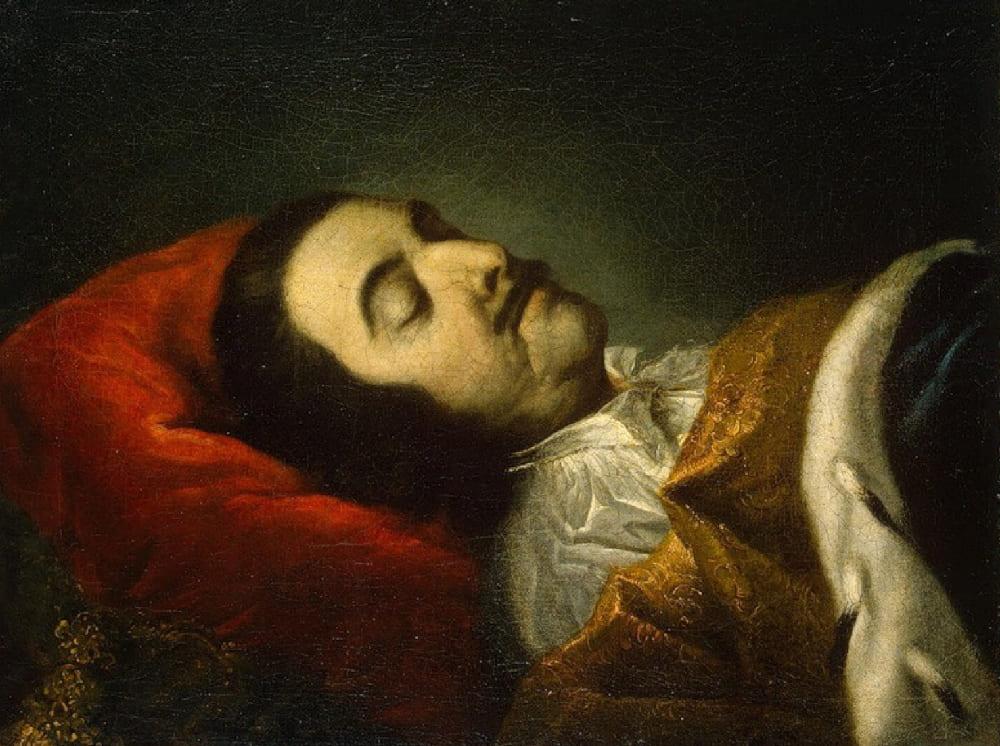 Иоганн Готфрид Таннауер «Портрет Петра I на смертном одре»