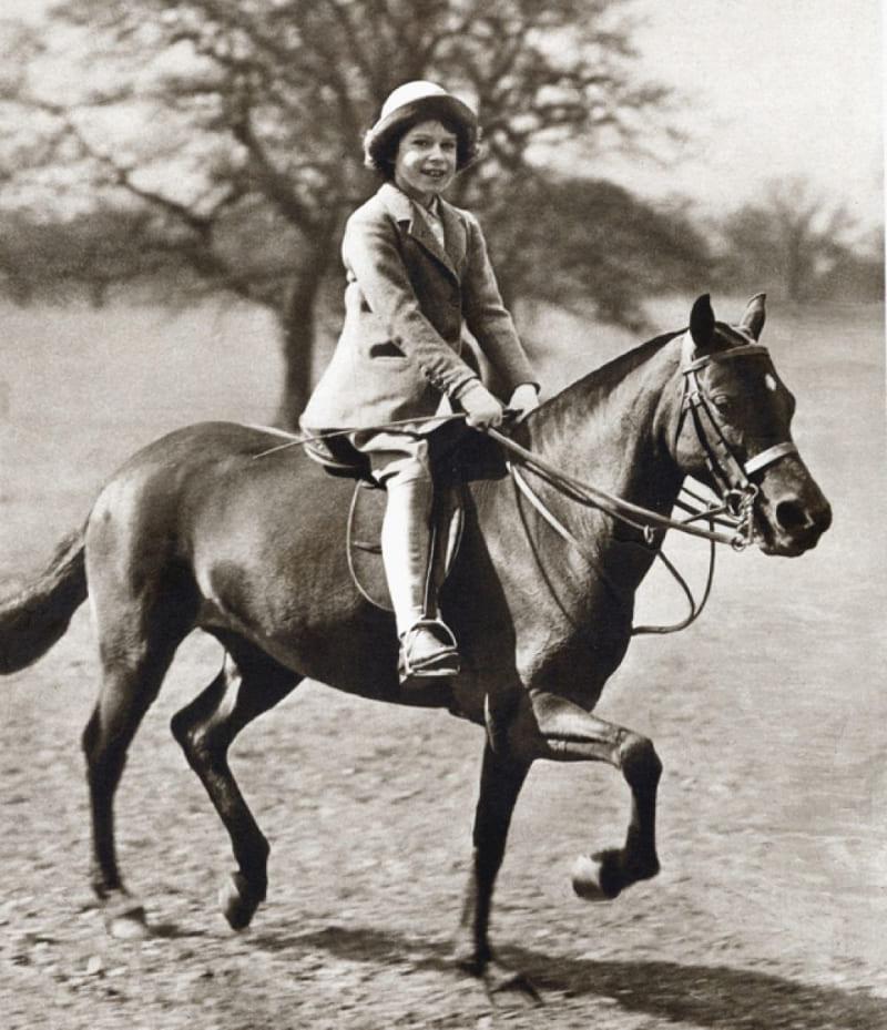 Лилибет и ее лошадь