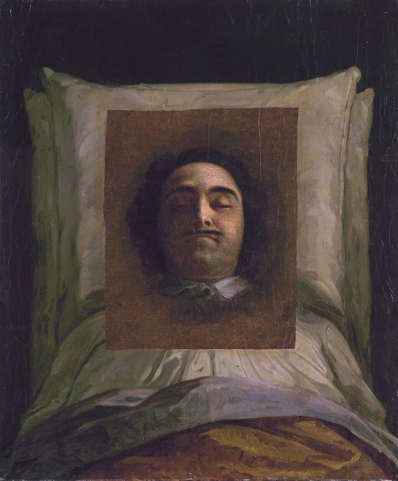 Луи Каравак «Портрет Петра Великого на смертном одре»