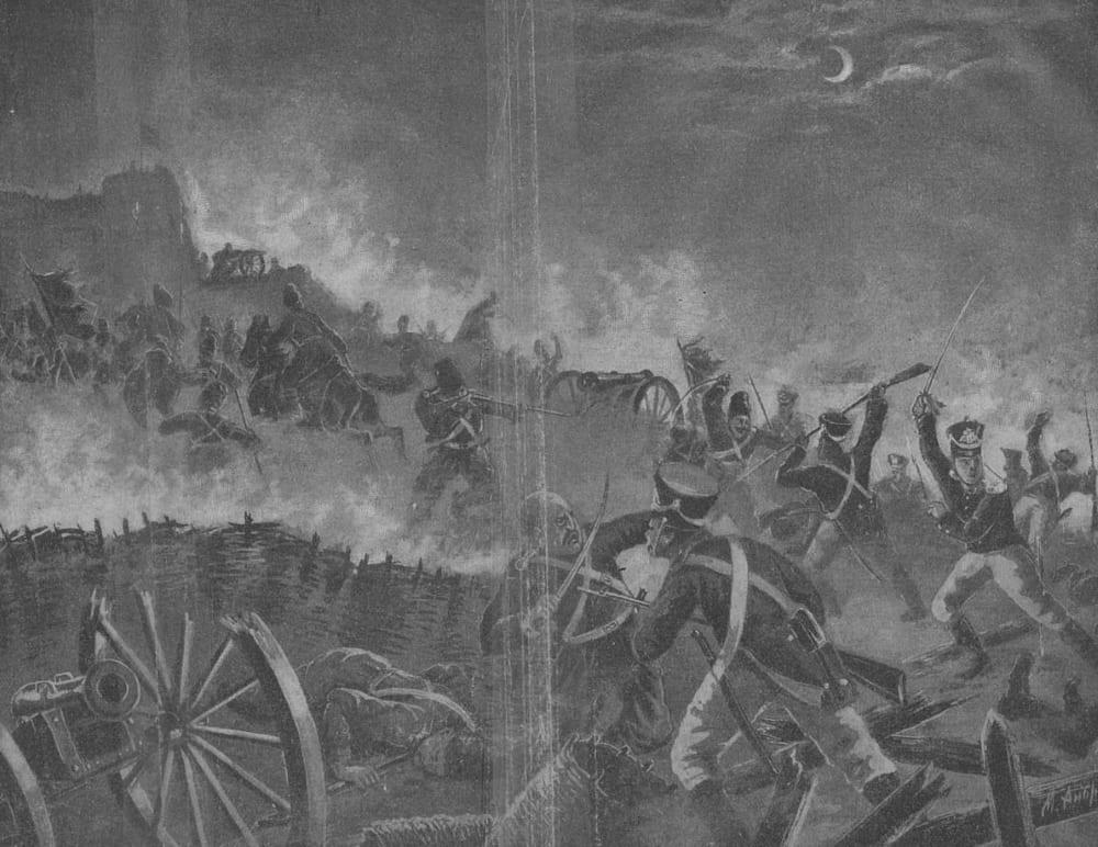 М. Андреев «Асландузская битва»