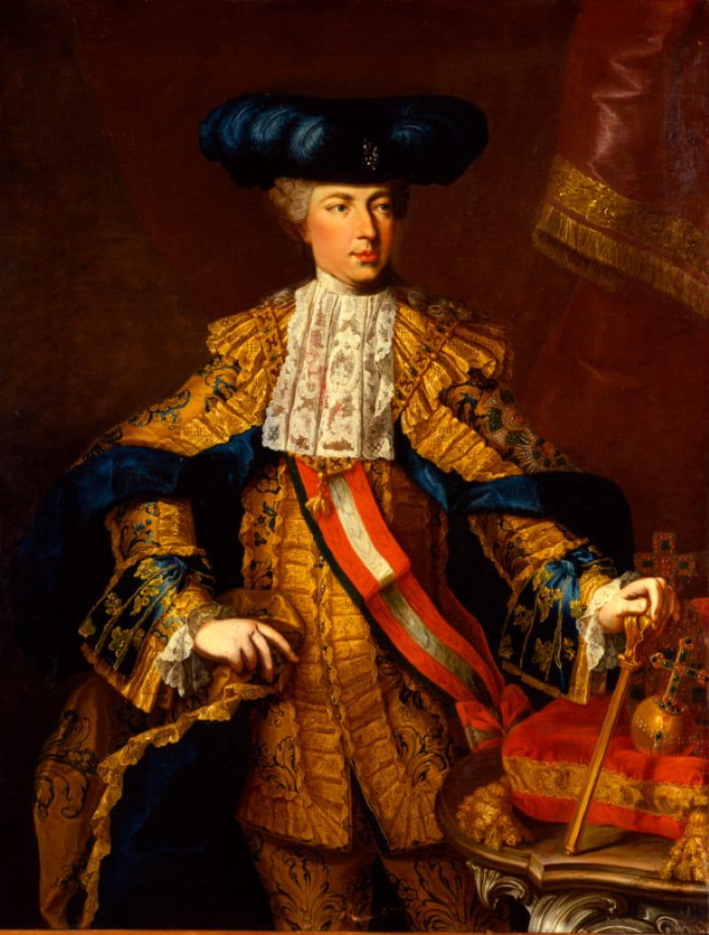 Мартин ван Майтенс «Портрет императора Священной Римской империи Иосифа II»