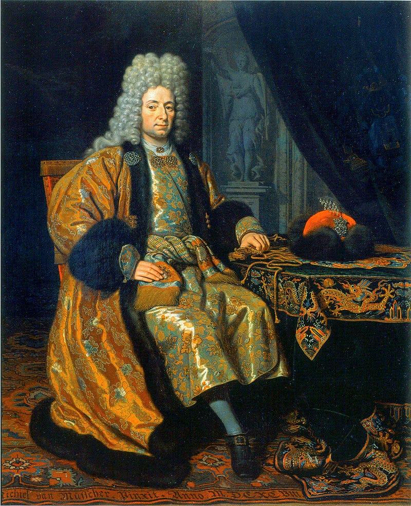 Михиль ван Мюссер «Портрет Франца Лефорта конца XVII века»