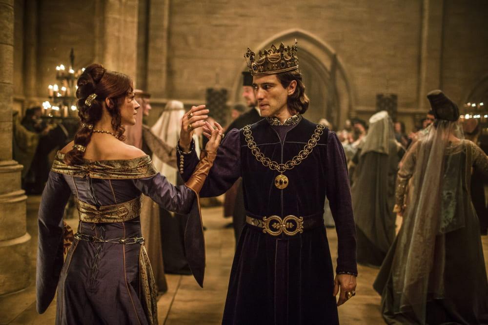 Образ короля Филиппа IV и королевы Жанны I в сериале «Падение Ордена»
