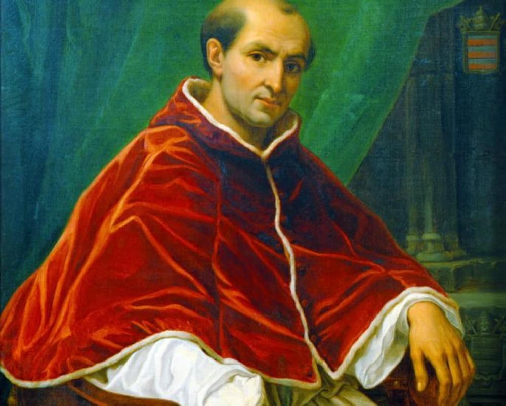 Огюст Серрюр «Портрет папы Климента V»