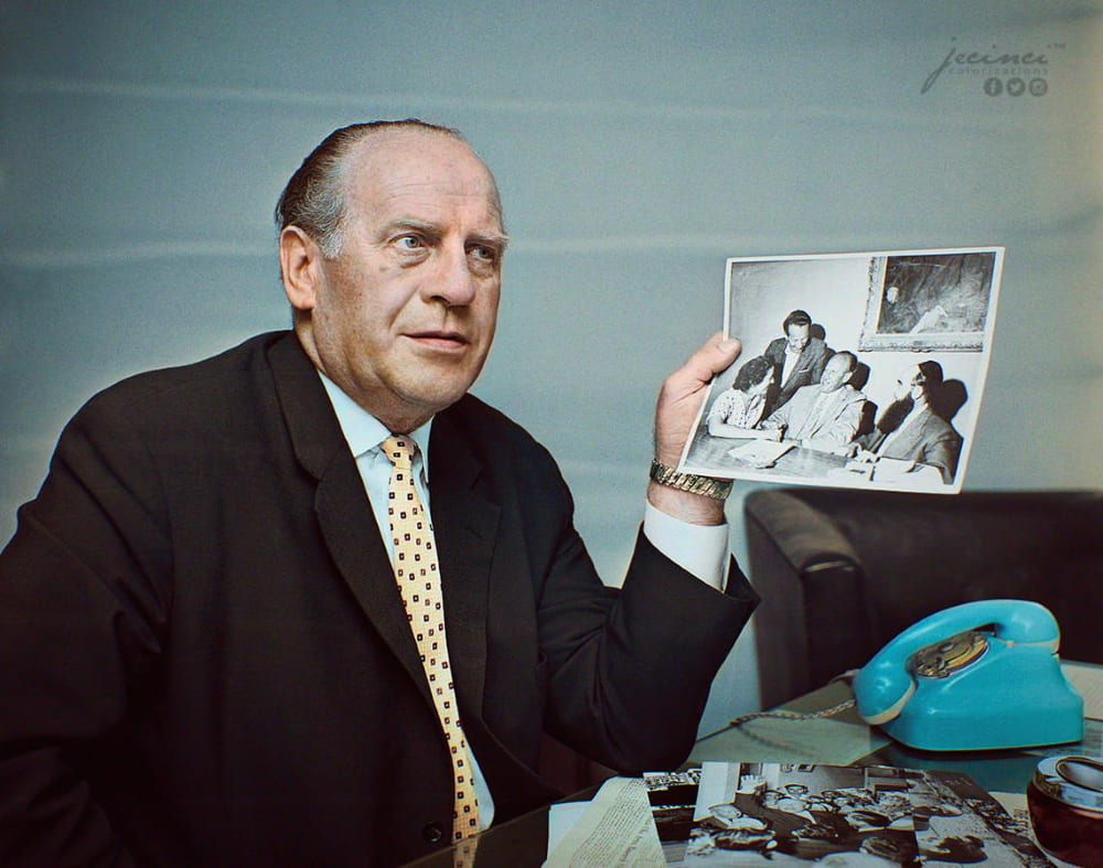 Оскар Шиндлер в 1963 году