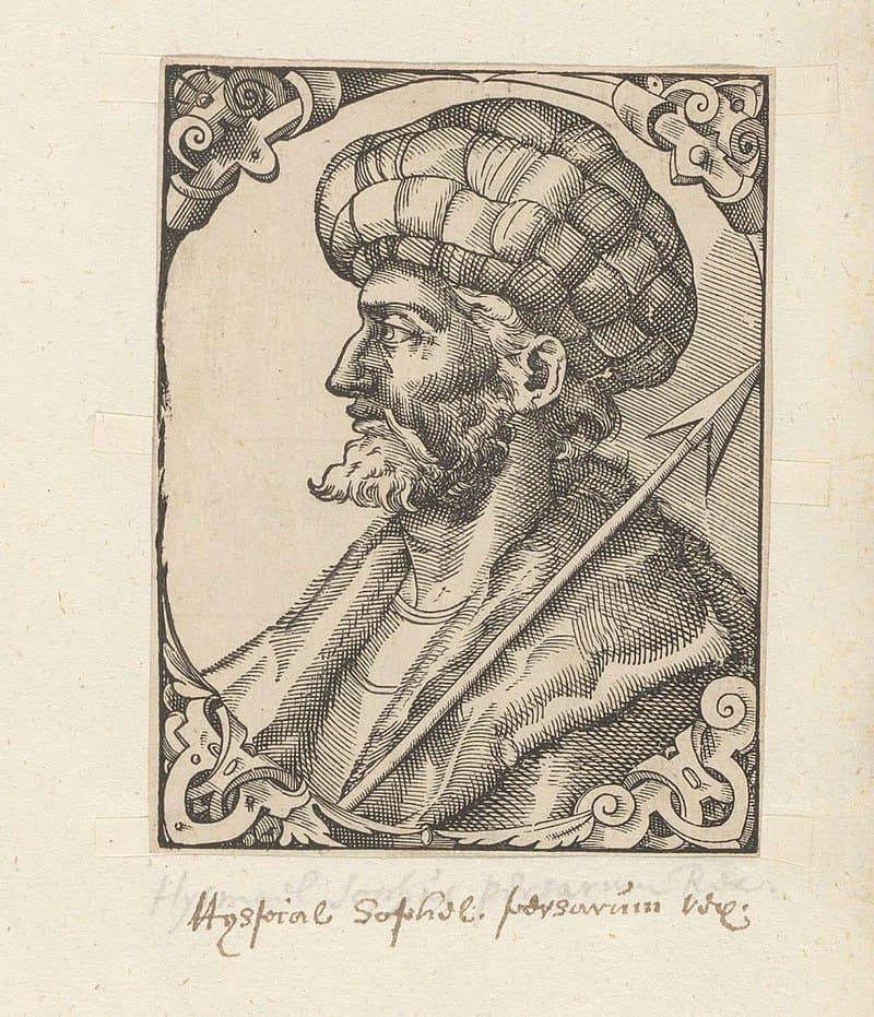 Паоло Джовио «Портрет Исмаила I»