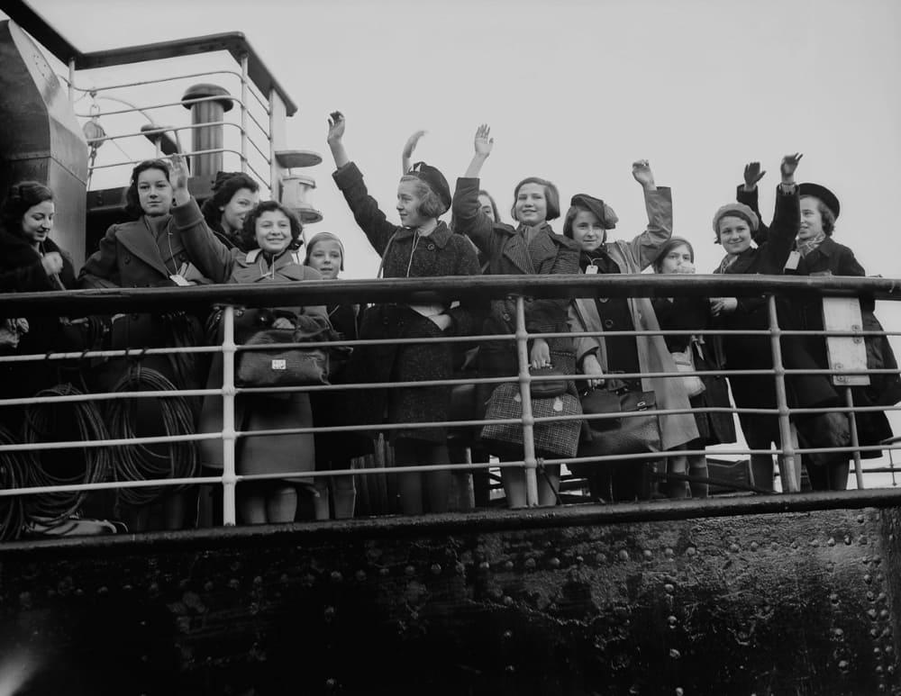 Первые беженцы в Англии, 2 декабря 1938 год