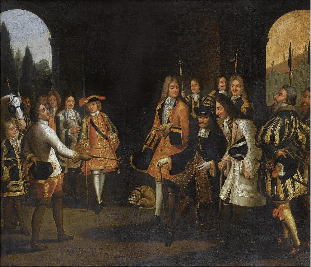 Петр I в Версале