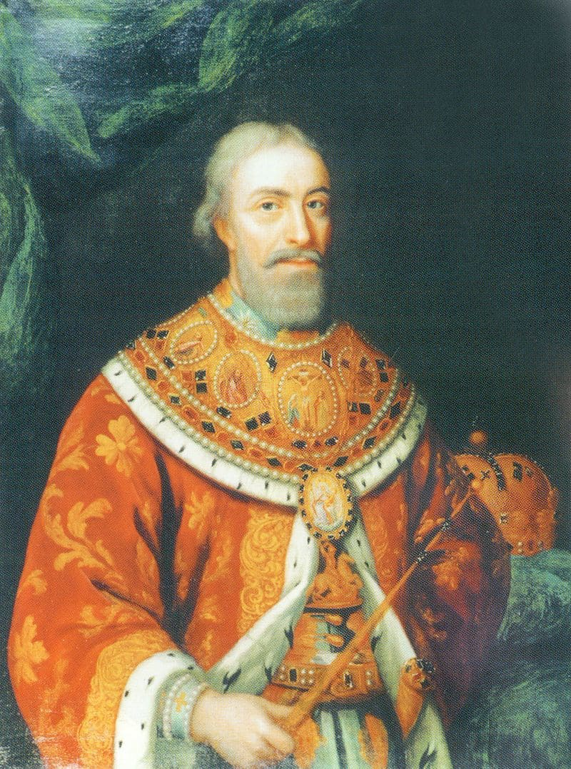 Портрет Вахтанга VI, царя Карталинии