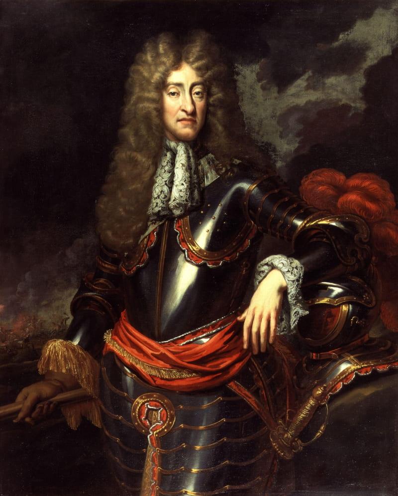 Портрет короля Якова II