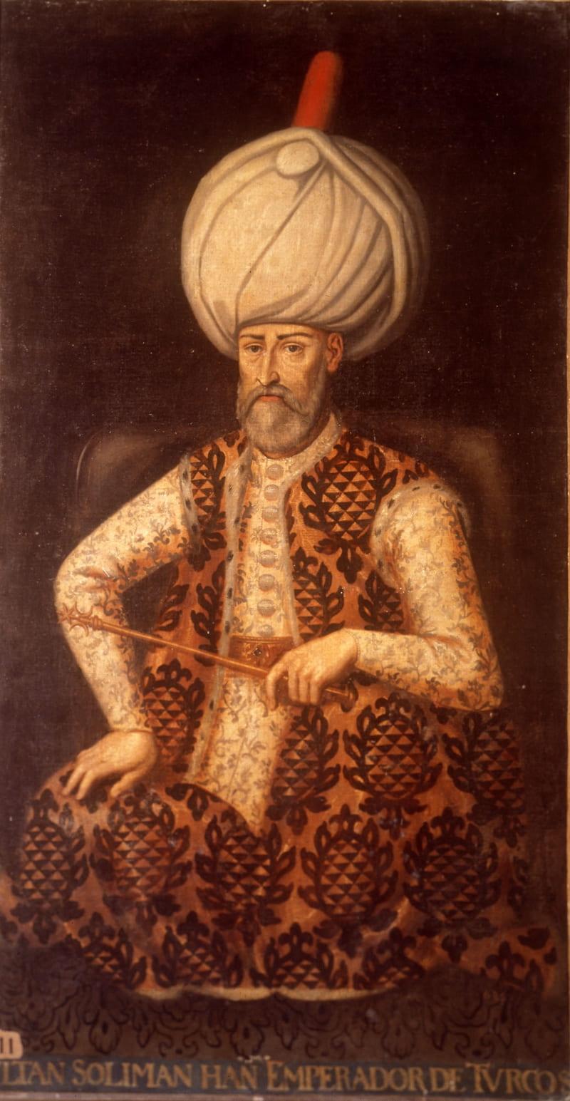 Портрет султана Сулеймана I Великолепного