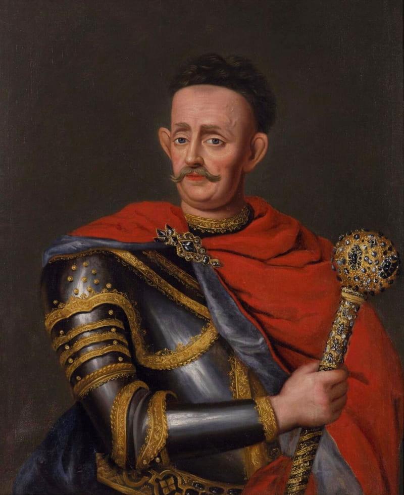 Портрет, вызывающий споры. По мнению историка Ольги Ковалевской это портрет гетмана Казимира Яна Сапеги, но научные сотрудники государственного музея-заповедника «Поле Полтавской битвы» считают, что это гетман Мазепа