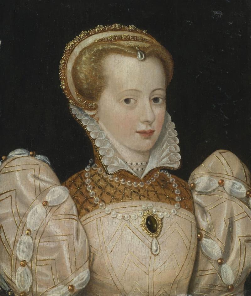 Предположительно портрет Шарлотты де Сов, художник Франсуа Клуэ