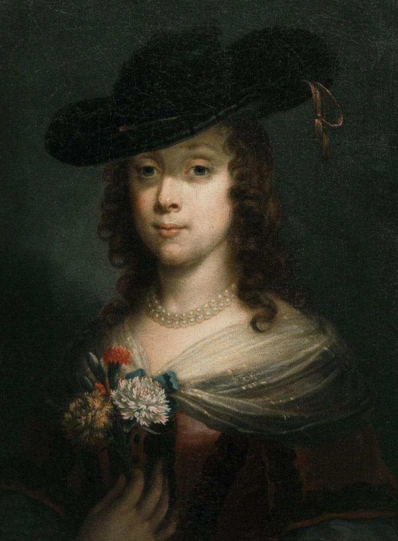 Сэр Питер Лели «Портрет дамы в шляпе», XVII век (не является портретом Арабеллы)