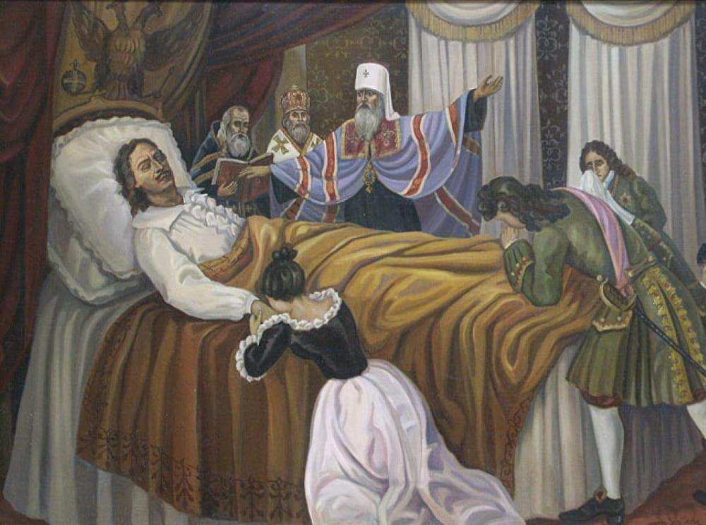 Смерть Петра I