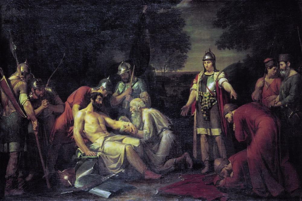Вастлий Сазонов «Дмитрий Донской на Куликовом поле»