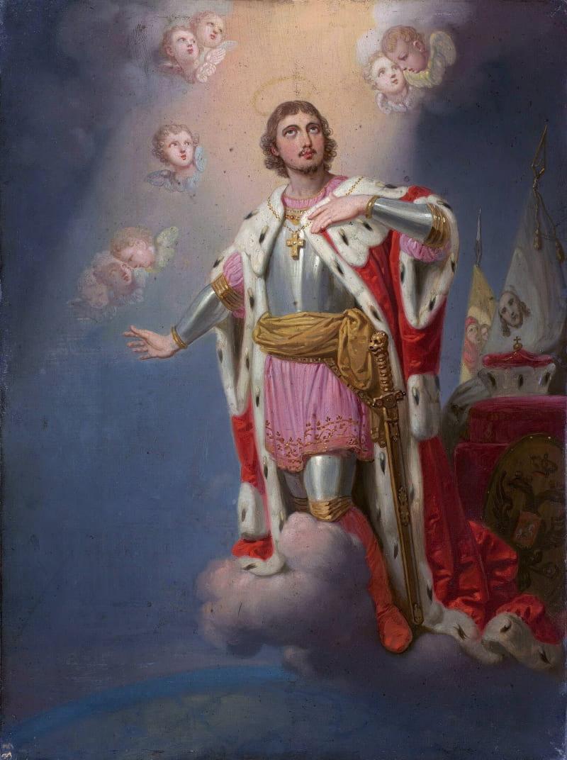Владимир Боровиковский «Александр Невский (икона)»