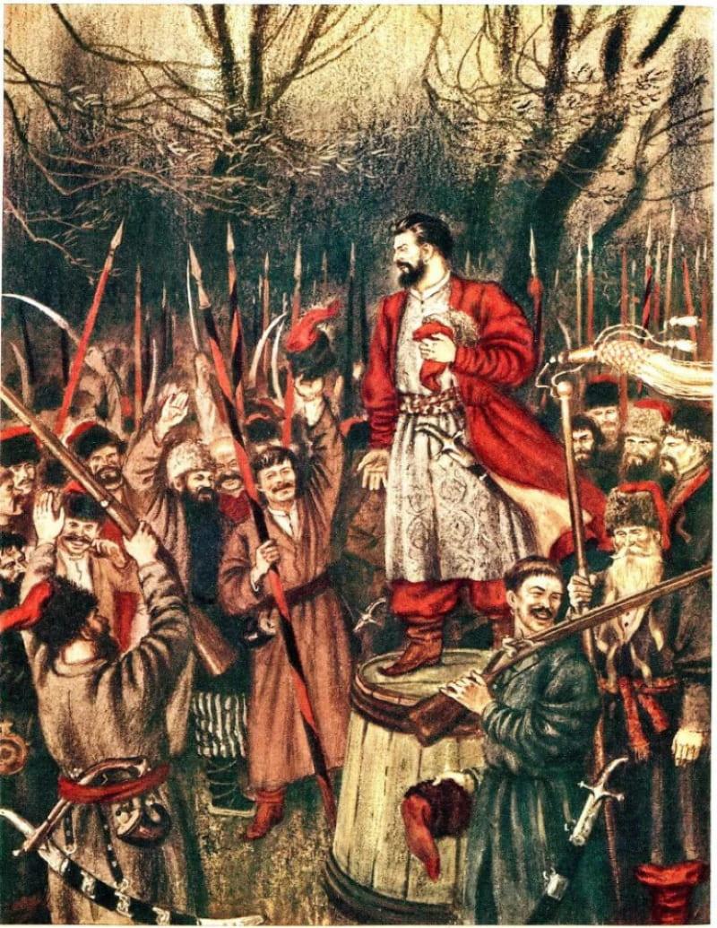 Восстание под руководством Булавина