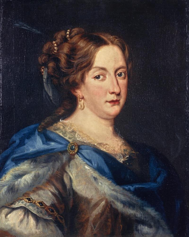Якоб Фердинанд Фут «Портрет королевы Кристины Шведской»