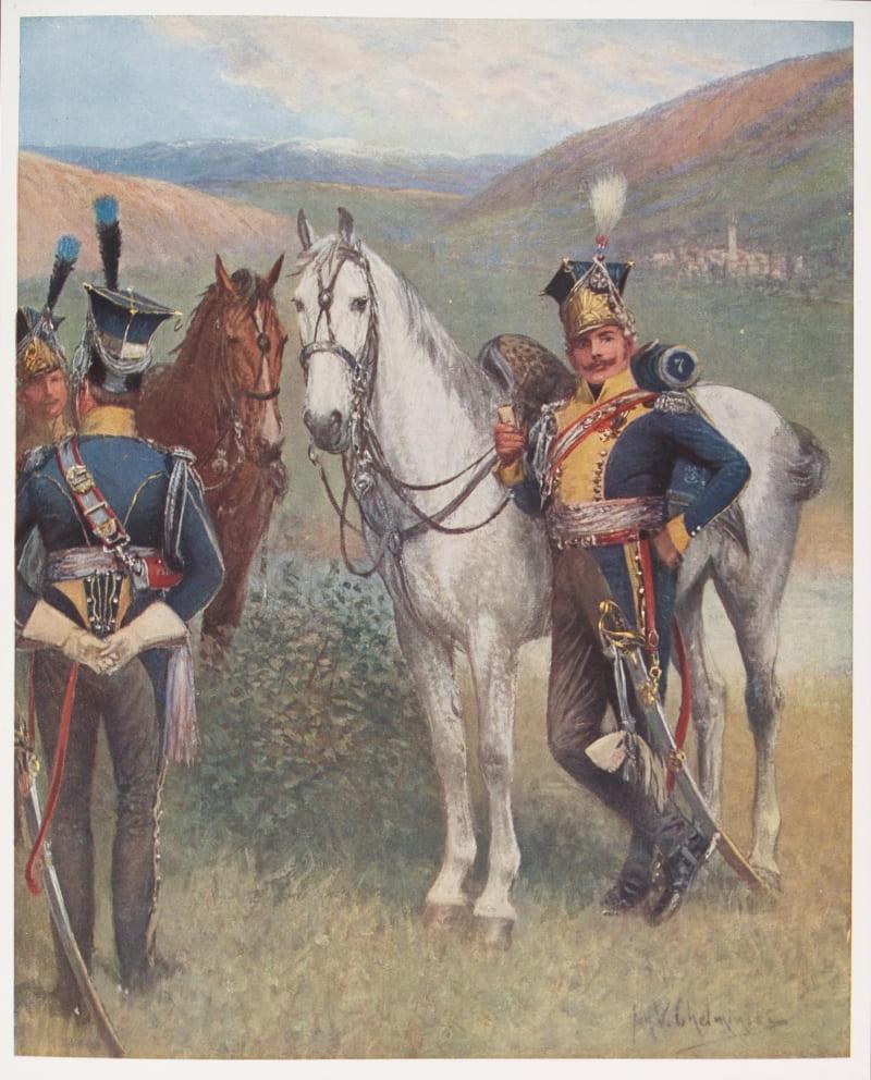 Ян Челминьский «Польские уланы 7-го шеволежерского лансьерского полка в Испании»