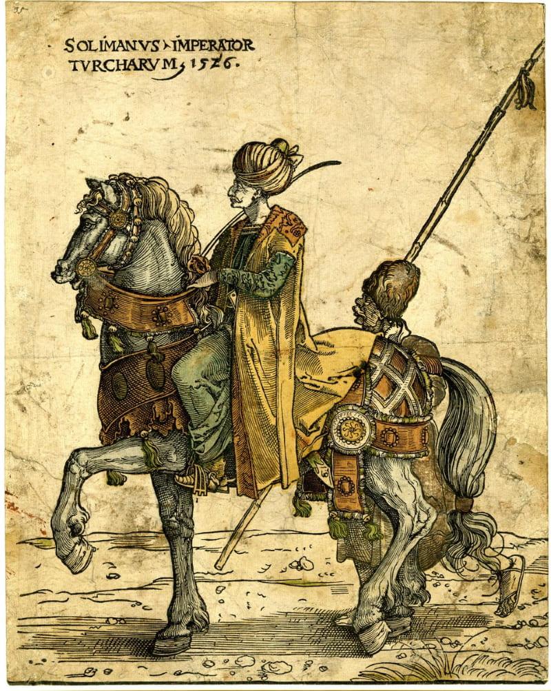 Ян Сварт ван Гронинген «Османский султан Сулейман I»